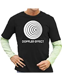 Doppler Effect Layered T-shirt à manches longues