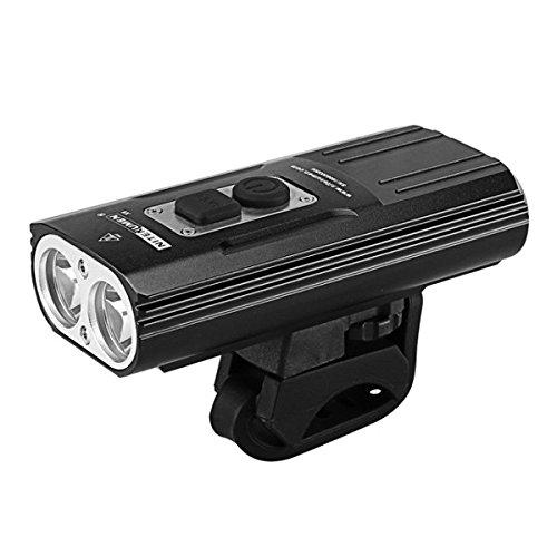 Preisvergleich Produktbild ILS - NITENUMEN X8 XM-L2 U3 1800LM Rechargeable LED Flashlight Bike Light New Mount