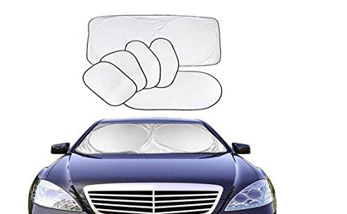 Pdhu 6 pcs/lot rétractable de voiture Pare-soleil kit anti UV pare-brise Pare-soleil fenêtre solaire UV Ray Déflecteur