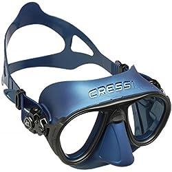 Cressi Lunettes Calibro Bleu Metal