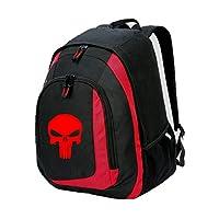 Rucksack Backpack Bag Punisher Skull Superhero Deadpool Marvel