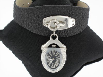 Cerruti - CT100152X02 - Montre Femme - Quartz - Analogique - Bracelet cuir noir