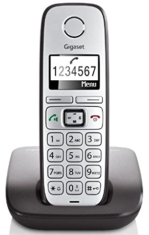 Gigaset E310 Telefon - Schnurlostelefon / Mobilteil - Grafik Display - Grosse Tasten Telefon - Freisprechfunktion - Analog Telefon -
