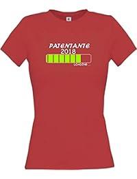 ShirtInStyle Lady-Shirt Patentante 2018 Loading... viele Farben, Größen XS-XL