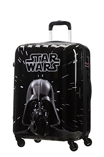 American tourister - Disney Star Wars Legends - Spinner 65/24 Joytwist Hand Luggage, 65 cm, 62.5 liters, Multicolour (Star Neon)