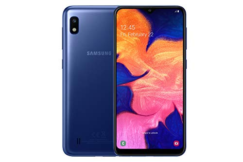 Samsung Galaxy A10 Dual-SIM 32 GB 6.2-Inch Android Smartphone - Blue (UK Version) Best Price and Cheapest