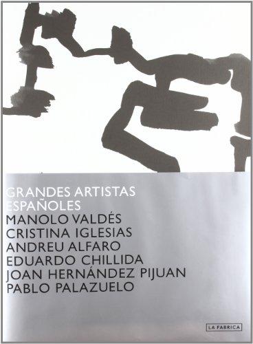 Grandes Artistas Españoles Volumen 2: Chillida, Pijuán y Palazuelo (Cuadernos de Artista)