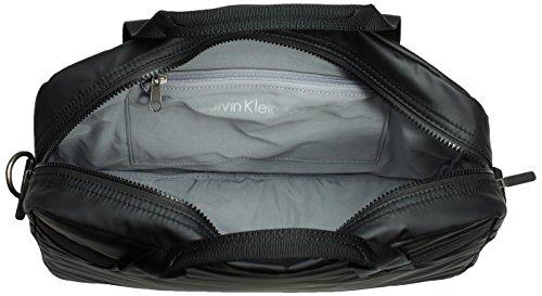 Calvin Klein Jeans METRO LAPTOP BAG, Borsa a mano uomo Nero (Nero (black 990))