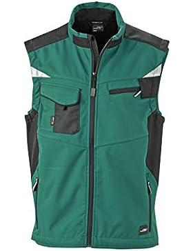 Chaleco profesional softshell características de alta calidad Workwear Chaleco softshell Hombre