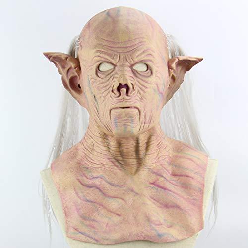 Halloween Latex Maske Beängstigend Alien Pharao 3D Neuheit Gruselig Teufel Kostüm Partei Cosplay Requisiten Rollenspiel Spielzeug