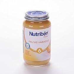 Nutribén - Potito Frutas Variadas Nutribén 250 gr 6m+