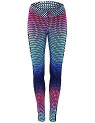 PFJWFE Pantalones de Yoga para Mujer Running Fitness Sport Mallas elásticas Leggings de Cintura Alta Pantalones de Entrenamiento Pantalones de Jogging de Gimnasio