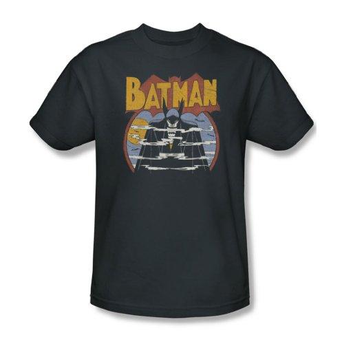 Dc Comics-Maglietta da uomo, colore: grigio nebbia Grigio