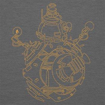 Texlab–BB Lines–sacchetto di stoffa Grau
