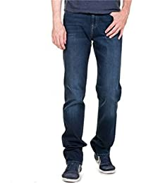 Lee Cooper Men's Jeans Blue Dark Brushed