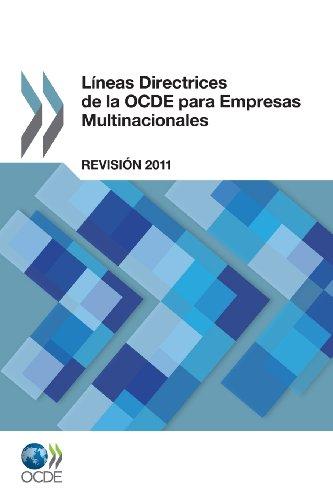 Lineas Directrices de La Ocde Para Empresas Multinacionales