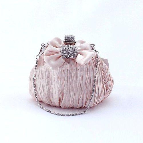 H:oter elegant bowknot Abschlussball & Party-Abend Handtasche, Handtasche, Geschenkideen - Farben verschiedenen, Preis / Stück Champagner