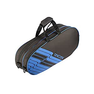 One O One - Lines Collection Double Black - Badminton / Tennis Kitbag