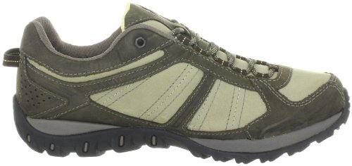 Columbia YAMA LOW LEATHER OUTDRY, Scarpe da escursionismo e trekking donna bianco (Weiß (Silver Sage, Cane 103))
