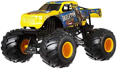 Hot Wheels Monster Truck Skeleton Crew 1:24 Die-Cast Auto Fahrzeug