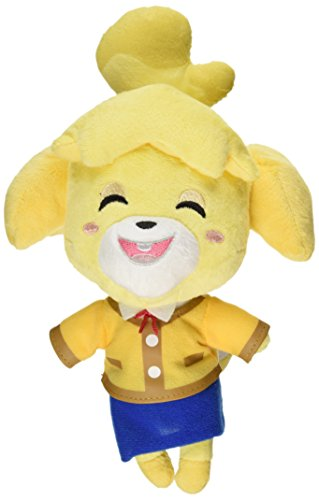 "Nintendo Animal Crossing - Isabelle Plush - Dog Smiling - 20cm 8"""