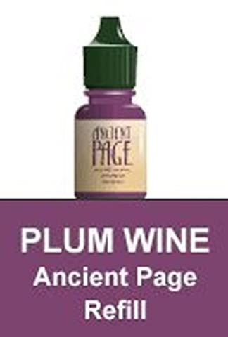 Ancient Page Dye Reinker-plum Wine by Clearsnap ColorBox Ancient Page