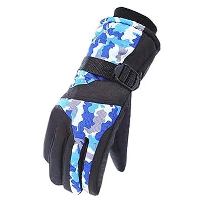 Snowboardhandschuhe Warme wasserdichte Ski-Handschuhe Mann-einen.Kreislauf.durchmachenhandschuhe, C