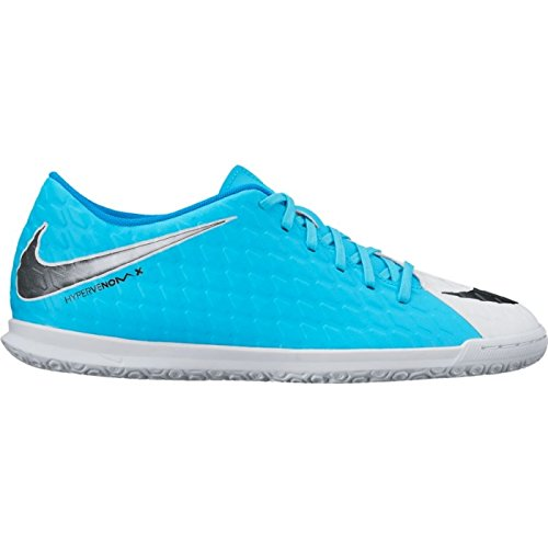 Nike Hypervenomx Phade Iii Ic, Scarpe da Calcio Uomo bianco