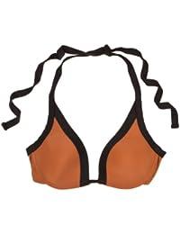 women'secret - Haut de bikini rembourré dos nu avec bonnets à armatures. Bonnet B - Femme