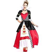 Amazon.es  Disfraz Reina De Corazones 8744eb2333e
