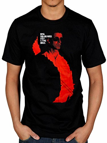 Official Noel Gallagher's High Flying Birds T-Shirt, S to XXL