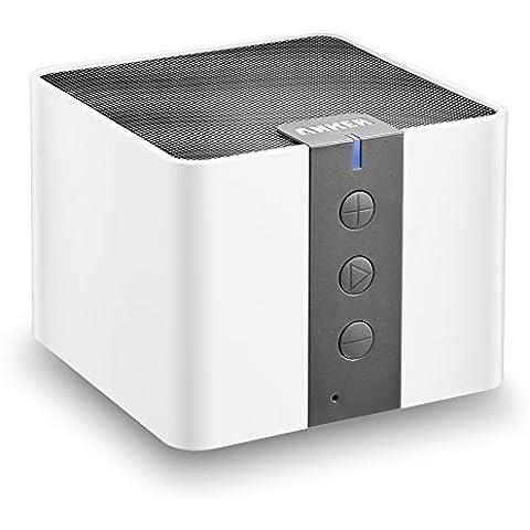 Altavoces Bluetooth Inalámbricos portatiles Anker A7908 Speaker (Bluetooth 4.0, Sub-Woofer pasivo, 4W de potencia.15-20 horas de reproducción)
