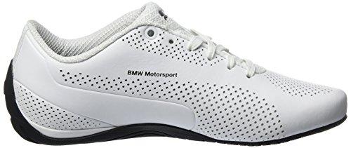 Puma Bmw Ms Drift Cat 5 Ultra, Sneakers Basses Mixte Adulte Blanc (Puma White-team Blue-high Risk Red 02)
