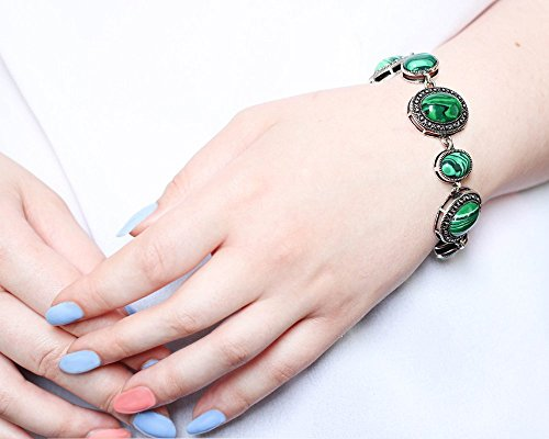 Preisvergleich Produktbild Gemstones Armband - Schmuck Ähnliche nach Green Malachite