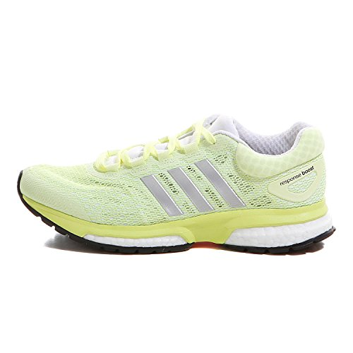 Adidas Response Boost W chaussures de course Jaune - light flash yellow-white-core black