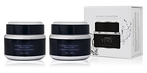 Vivo Per Lei Retinol Face Exfoliating Scrub for Sensitive Skin