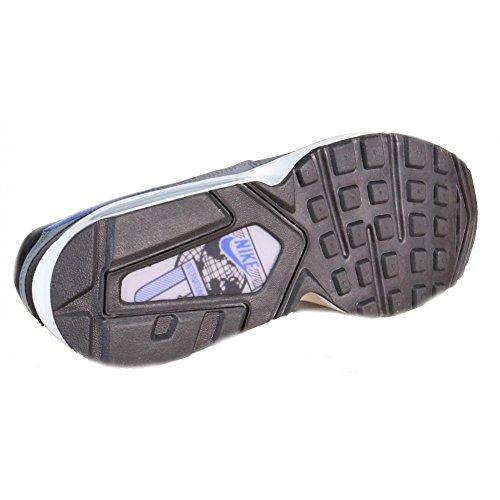 Nike - Chaussures 'Air Max ST', de sport - 654288-006 Gris foncé, gris clair, noir, bleu et blanc