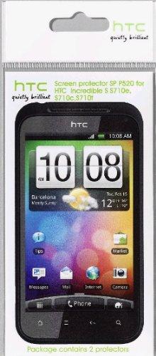 HTC SP P520 Trophy Displayschutzfolie für HTC Incredible S (2 Stück) blister