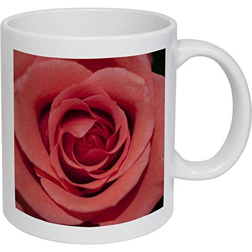 Azeeda 320ml 'Pinke Rose' Kaffeetasse / Becher (MG00002991)