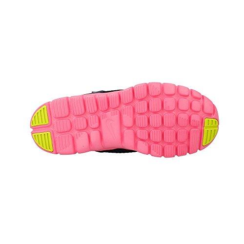 Nike Flex Experience (Psv), Scarpe da Ginnastica Bambina Blu / Argento / Rosa (Mid Nvy / Mtllc Slvr-Pnk Glw-Whi)