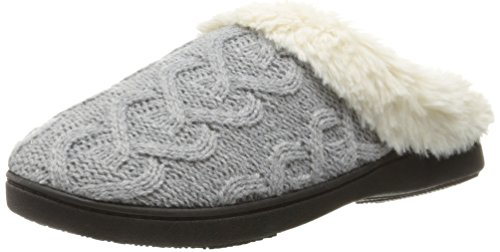 isotoner-womens-cable-knit-bridget-clog-slippers-heather-grey-large-85-9-m-us