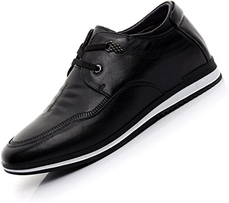 GTYMFH Zapatos Hombres Aumentado 5CM Transpirable Negocio Ocio Zapatos De Hombre