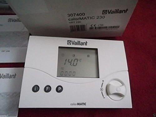 Vaillant 307403 calorMATIC 330 Raumtemperatur Dig Schaltuhr mit  Wochenprogram modulierend 24 V