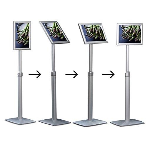 Preisvergleich Produktbild Displayständer Premium Change   Premium-Use   Display höhen- und neigungsverstellbar   Hoch- und Querformat möglich