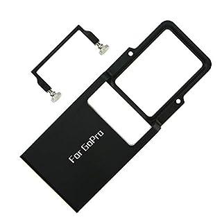 Mount Plate Adapter für GoPro Hero 6 5 4 3+, ParaPace Switch Mount Plate Adapter für DJI Osmo Mobile Zhiyun Smooth Q Gimbal Handheld Feiyu SPG EGV Gimbal Zubehör