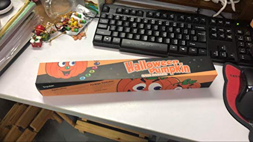 Toyvian HHalloween Pumpkin Game Aufkleber, Pumpkin Poster Face Nose Aufkleber Halloween Party Aufkleber Dekorationen Trick or Treat Party Favors