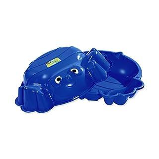 KHW 72002 - Sand-und Wassermuschel Beach Bee, Sandspielzeug, blau