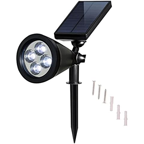 Luce Solar Spotlight LED orientabile esterna impermeabile