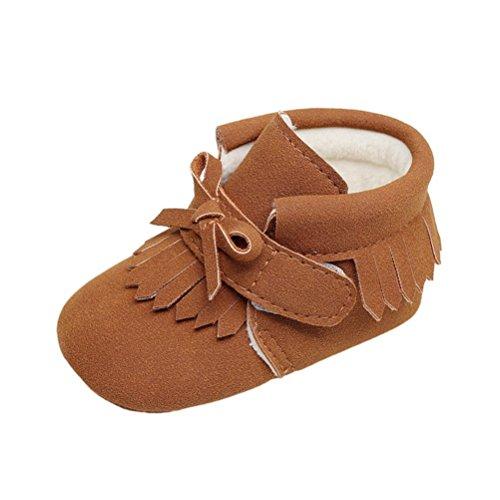 Les super hiver chaud baby boots en cuir souple des bottes baby shoes bébés chaussures enfants filles garçons premier nourrissons ma 8XKBO