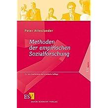 Methoden der empirischen Sozialforschung (ESVbasics)